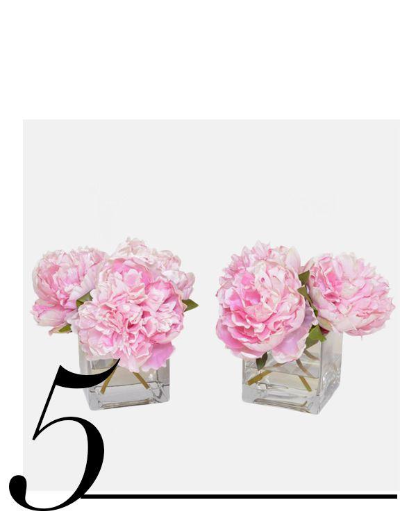 Faux-Pink-Peony-Arrangements-The-French-Bee-bedroom-decorating-ideas-top-ten-bedroom-accessories