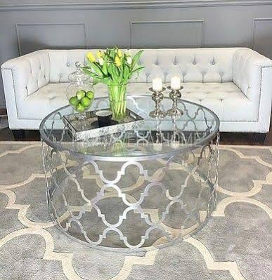mirror coffee table uk