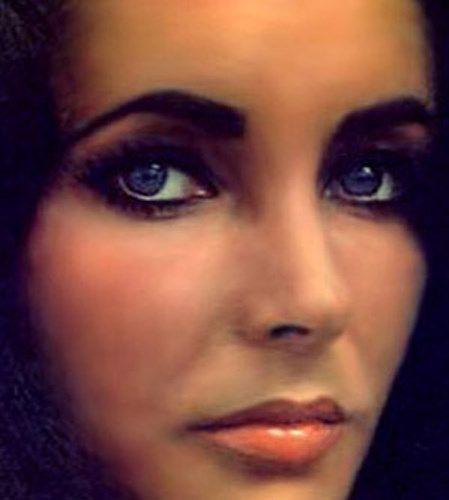 elizabeth taylor lavender eyes