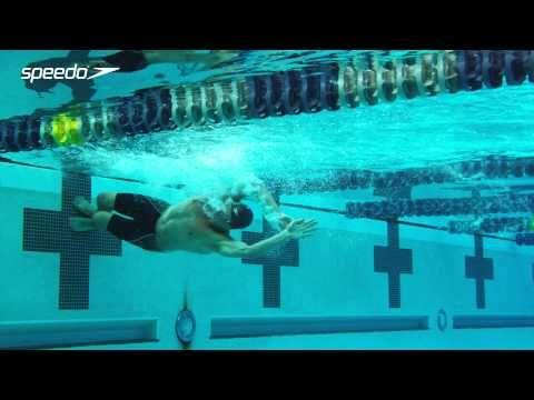 Ryan Lochte   Breaststroke Turn Technique - YouTube. Cool slow in mo... His hands leave the wall way before his feet even touch!