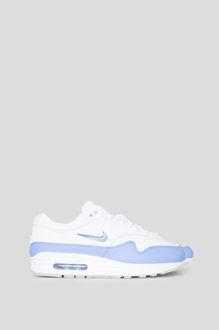 NIKE AIR MAX 1 PREMIUM SC WHITE UNIVERSITY BLUE