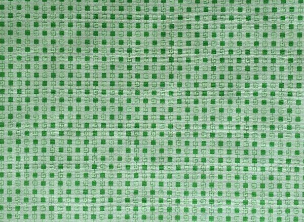 Green Squares - mid weight cotton with so many possibilities...