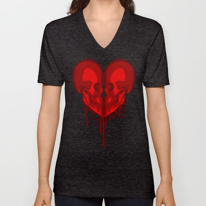 Buy Eternal Valentine Unisex V-Neck by grandeduc. Worldwide shipping available at Society6.com. Just one of millions of high quality products available.