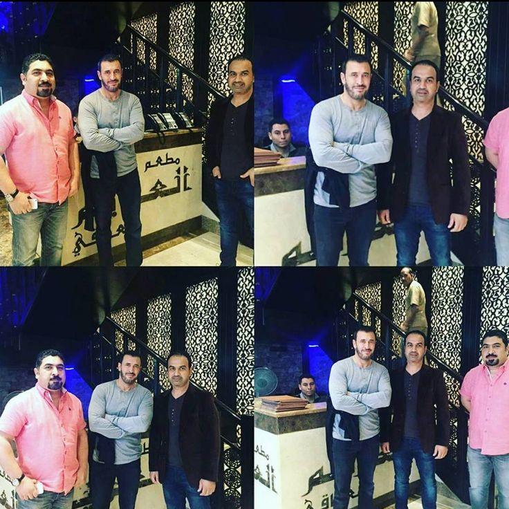 في مطعم العزائم العراقي في دبي