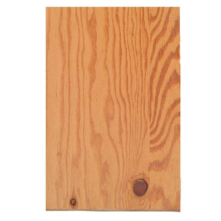 null 23/32 in. x 4 ft. x 8 ft. Fir Sheathing Plywood (Actual: 0.688 in. x 48 in. x 96 in.)