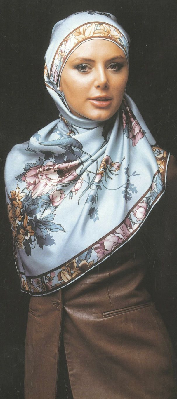 """I am not Muslim; I am Christian. But some of these hijabs the Muslim women wear are simply beautiful and portray a """"gentle, quiet spirit."""""""