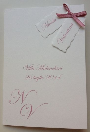 menu matrimonio www.partecipazioniebomboniere.com