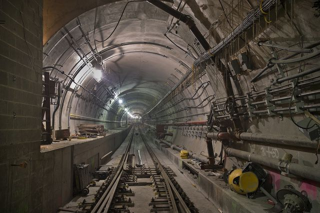 New York City S New Subway Tunnel Looks Like A Level From