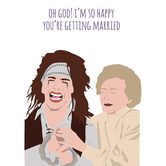 Funny wedding card The Wedding Singer George by MeetMeInShermer