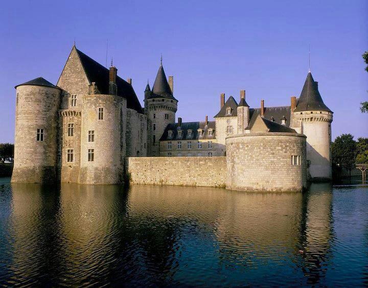 Castello di Sully Valle della Loira Francia