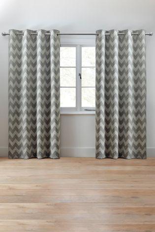 best 25+ grey chevron curtains ideas on pinterest