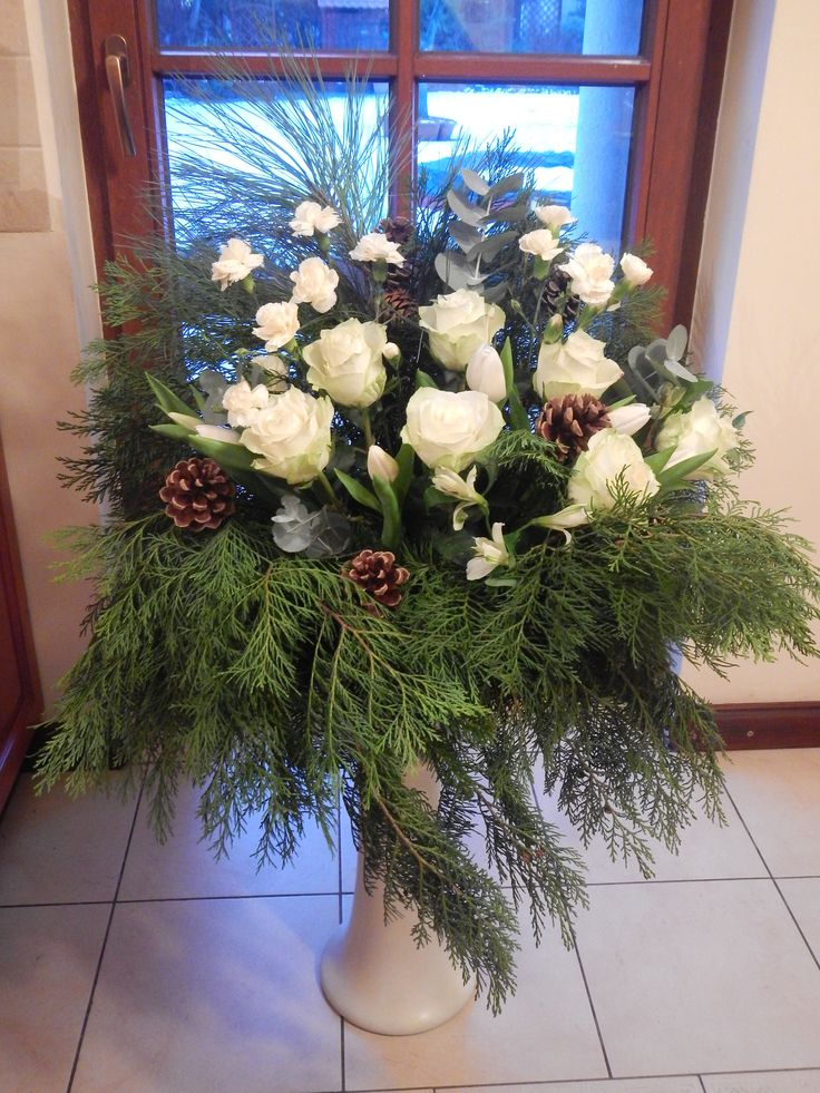 Winter flowers: roses carnations, tulips