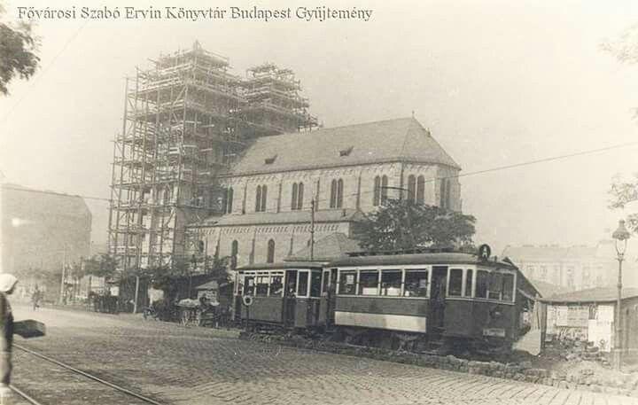 A Lehel téri templom építése 1933