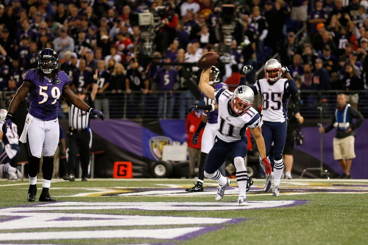 Julian Edelman - New England Patriots v Baltimore Ravens