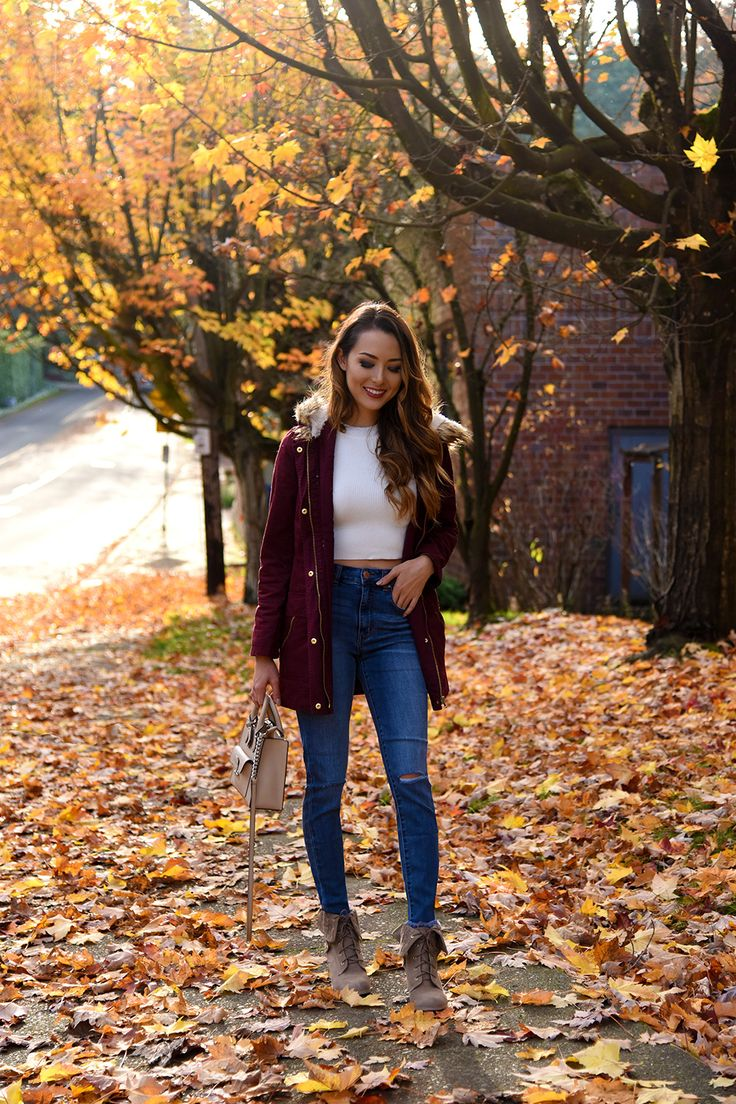 Jessica Ricks Charlotte Russe Jacket, Jeans, Booties | Top | Michal Kors Bag