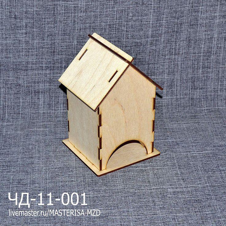 Купить ЧД-11-001. Заготовка для декупажа чайный домик - бежевый, чайный домик