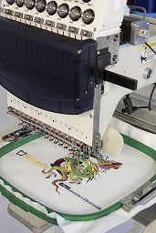 How does the Butterfly Commercial Embroidery Machine compare to other embroidery equipment? www.ButterFlyEmb.com
