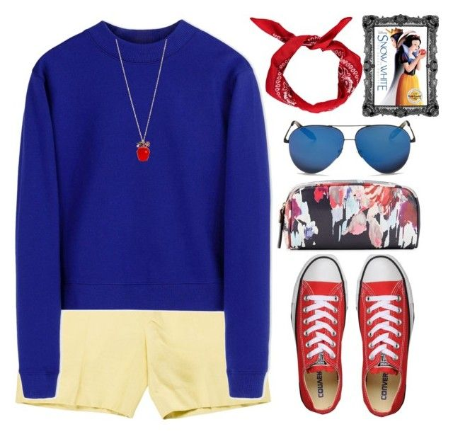 Snow white inspired by mycherryblossom on Polyvore featuring Acne Studios, Marni, Converse, Kate Spade, Betsey Johnson, Victoria Beckham, Boohoo, women's clothing, women's fashion and women