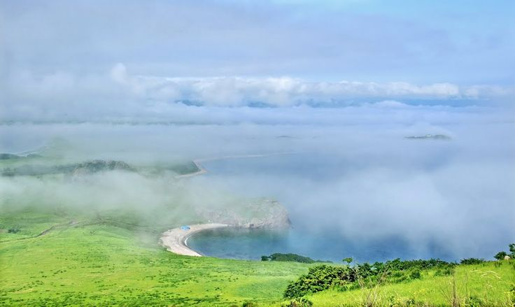 View from Cape Degera (Khasan district, Primorsky kray, Russia)