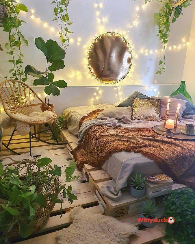 Aesthetic Bedroom With Plants : aesthetic, bedroom, plants, Creative, Hanging, Plants, Ideas, Indoor, Wittyduck, Aesthetic, Bedroom,, Bohemian, Bedroom, Decor,, Dream, Rooms