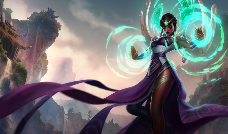 Karma   League of Legends Karma is a woman of indomitable will and unbound spiritual power. She is the soul of Ionia made manifest and an inspiring presence on the battlefield, shielding her allies and turning back her foes. A strong leader torn between tradition and revolution, Karma seeks to protect the peace of Ionia - by force if necessary.