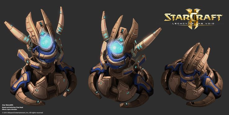 ArtStation - StarCraft 2, Legacy of the Void - Campaign Art! Round 2, Chaz Head