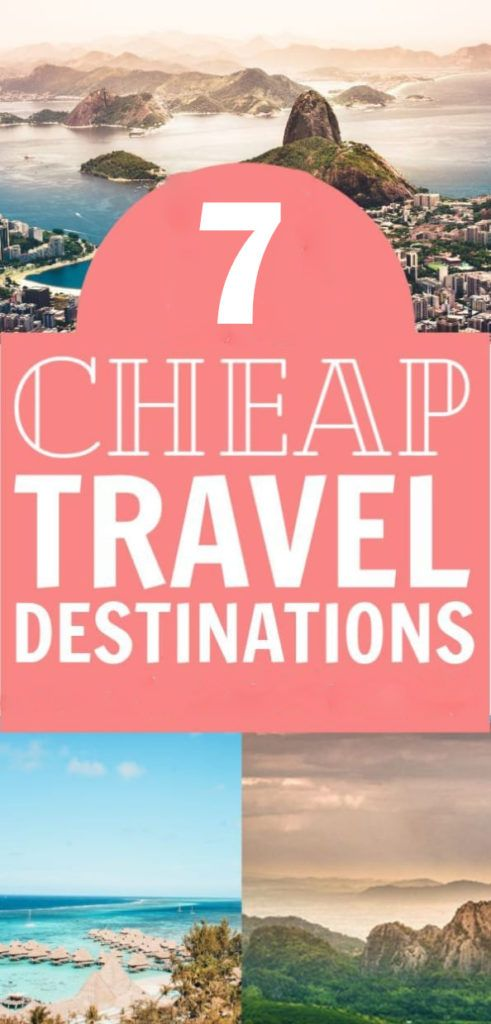 The easiest way  is to go to cheap countries! The ones listed  here are all