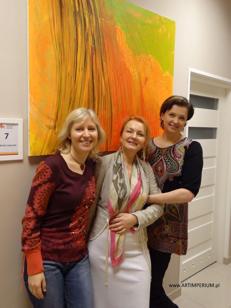 Danuta Nawrocka, Anna Kossakowska, Magdalena Woźniak