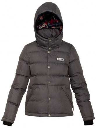 TNA BLACKCOMB PUFFER PARKA Down-filled and water-resistant to keep you warm, dry and toasty, this bomber-style TNA Blackcomb Puffer Parka is lined with soft flannel and features a detachable hood. Black.