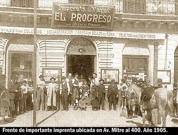 Imprenta El Progreso, c. 1905