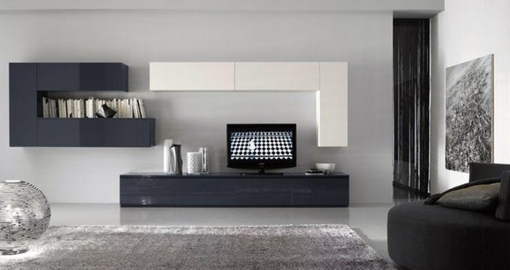 Day soggiorno lucido bianco grigio 800 425 for Modern day living room designs