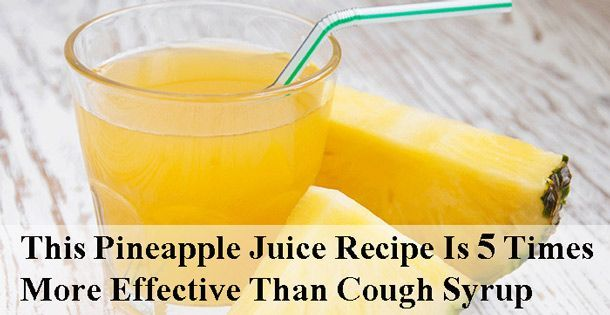 Pineapple Juice for Cough: Effective and Fast Relief