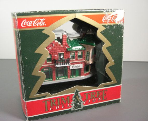 Coca Cola Bottling Company Christmas Ornament // by UBlinkItsGone