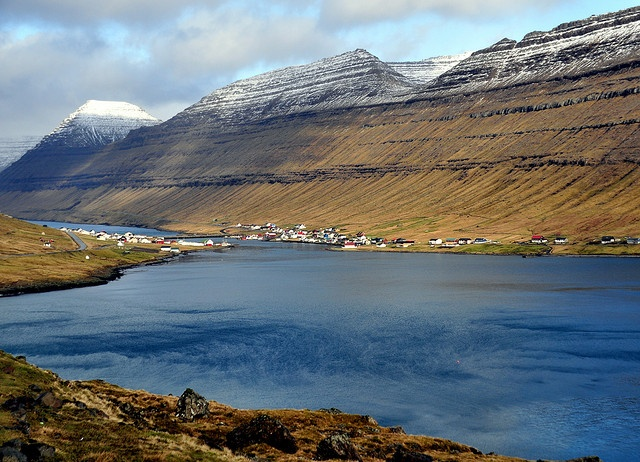 Hvannasund, Viðoy, Faroe Islands