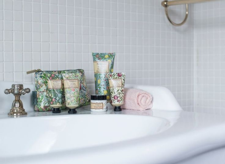 Our gorgeous Heatcote & Ivory William Morris designed beauty products will…