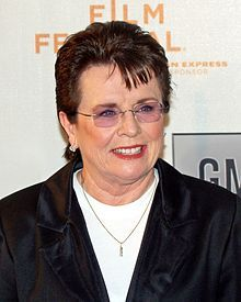 Billie Jean King is an American former professional tennis player. She won 12 Grand Slam singles titles, 16 Grand Slam women's doubles titles, and 11 Grand Slam mixed doubles titles