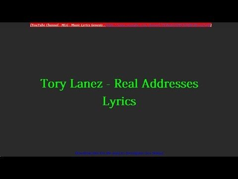 Tory Lanez - Real Addresses Lyrics