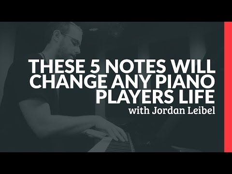 These 5 Notes Will Change Any Piano Player's Life - Piano Lessons (Pianote) - YouTube