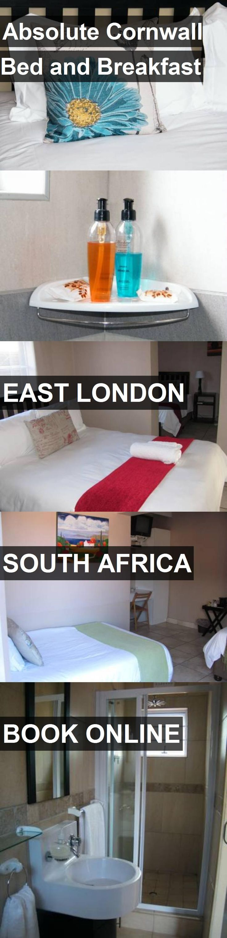Hotel Absolute Cornwall Bed and Breakfast in East London, South Africa. For more information, photos, reviews and best prices please follow the link. #SouthAfrica #EastLondon #travel #vacation #hotel