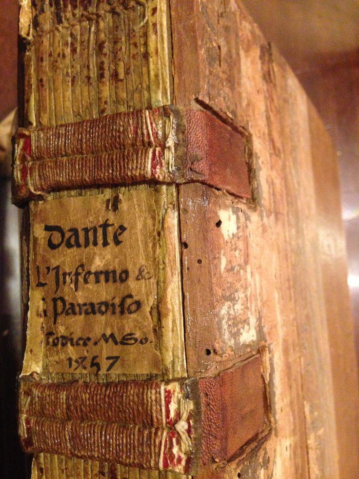 Wow.1457 times!  houghtonlib:  Dante Alighieri, 1265-1321. Comincia la prima parte della cantica onero co[m]media chiamata i[n]ferno del ch...