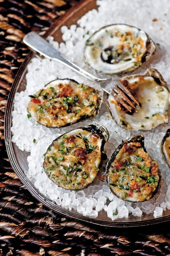 Oysters Bienville – Garden & Gun