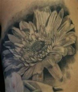 daisy realism | Realistic Women Small Daisy Flower Tattoos