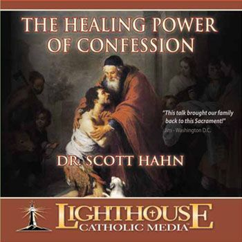 """Dr. Scott Hahn presents the historical and biblical origins of the Sacrament of Penance (Reconciliation). He provides an important guide for new Catholics, a source of renewal for """"old hands"""", and a challenge to all of us to deepen our relationship with Christ through regular use of the Sacrament of Penance."""