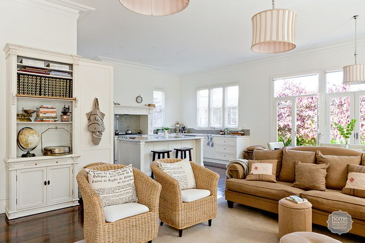 Heritage Charm: A renovation that stylishly recaptures the past has breathed new life into this Victorian cottage.