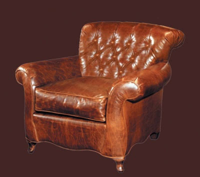 Best Leather Chairs Images On Pinterest Leather Chairs - Comfy leather armchair for readers