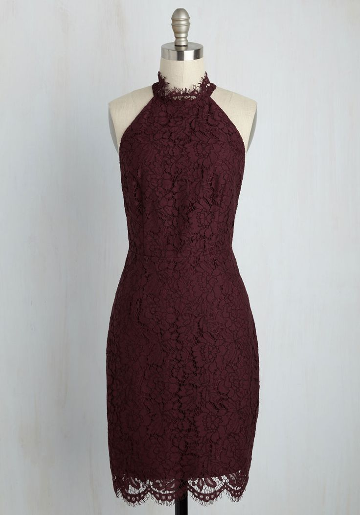 Courageous Courtship Lace Dress, @ModCloth