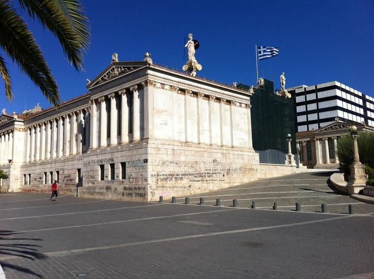 Université d'Athènes, Grèce
