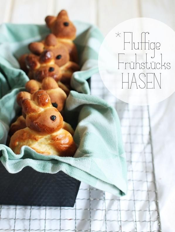 DIY Rezept: leckere Frühstückshasen backen, Osterrezept // diy recipe: how to bake delicious bunny buns! Perfect for a yummy Easter menue via DaWanda.com