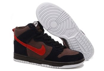 Nike Dunk Sb High For Men Chocolate Black Nike Dunks #fashion #sneakers