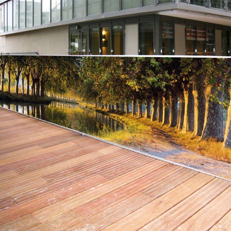 Apportez une #touche de #soleil à votre #balcon et retrouvez toute votre #intimité en optant pour un #brisevue #toile.   Brise vue : le #canal du #midi chez soi ! http://www.amenager-ma-maison.com/terrasse-et-jardin/canisse-et-brise-vue/toile/brise-vue-le-canal-du-midi-chez-soi-42-n  Excellente #lecture et bon #shopping à tous avec #AmenagerMaMaison !